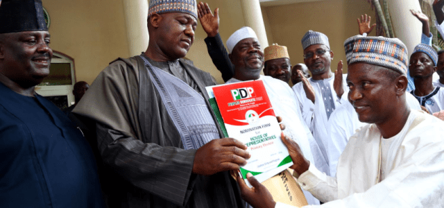 Yakubu Dogara to re-contest, picks PDP nomination form