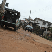 Osun rerun: Military, Police in irresponsible show of force, sporadic gunshots heard