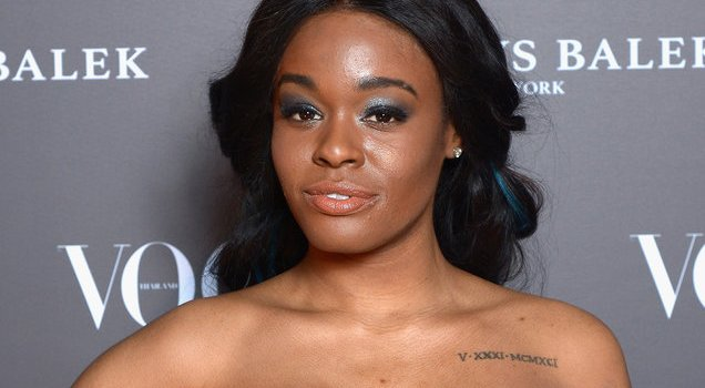 Azealia Banks goes topless, shows off her new giant breast implants +18
