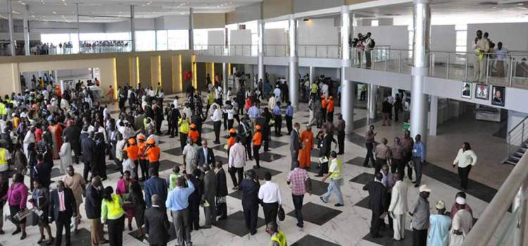 Airport shut down as Aviation workers strike