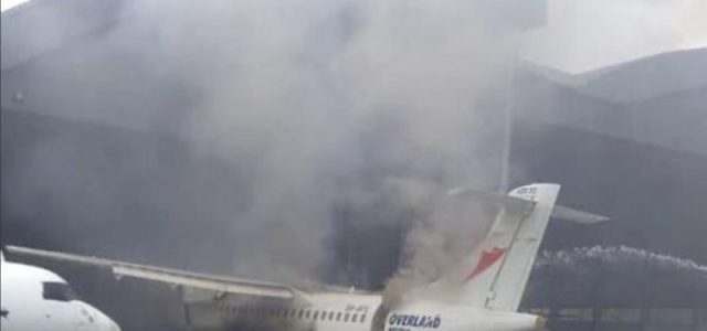 Fire razes Overland Airways at Murtala Muhammed Airport