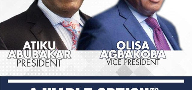 Atiku-Agbakoba trends as PDP presidential candidate shops for a VP