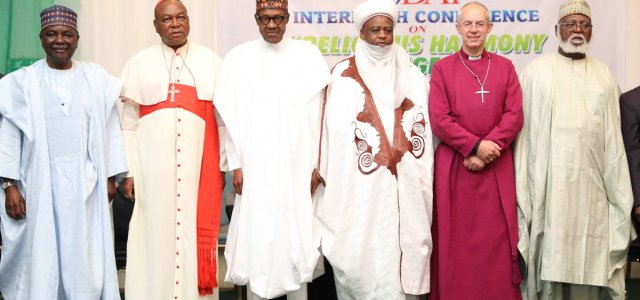 Buhari attends Interfaith Conference ahead of 2019 general elections (photos)