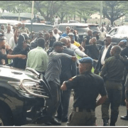 Chaos, confusion at Akwa Ibom House of Assembly as Akpabio-Udom war escalates