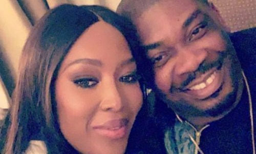 I had to put on my sexiest eyes – Don Jazzy says after nightout with Naomi Campbell (photos)