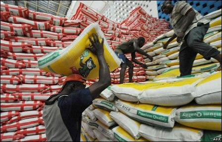 Nigeria is second largest importer of rice, after China