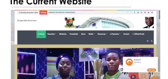 Lagos State Government unveils new website