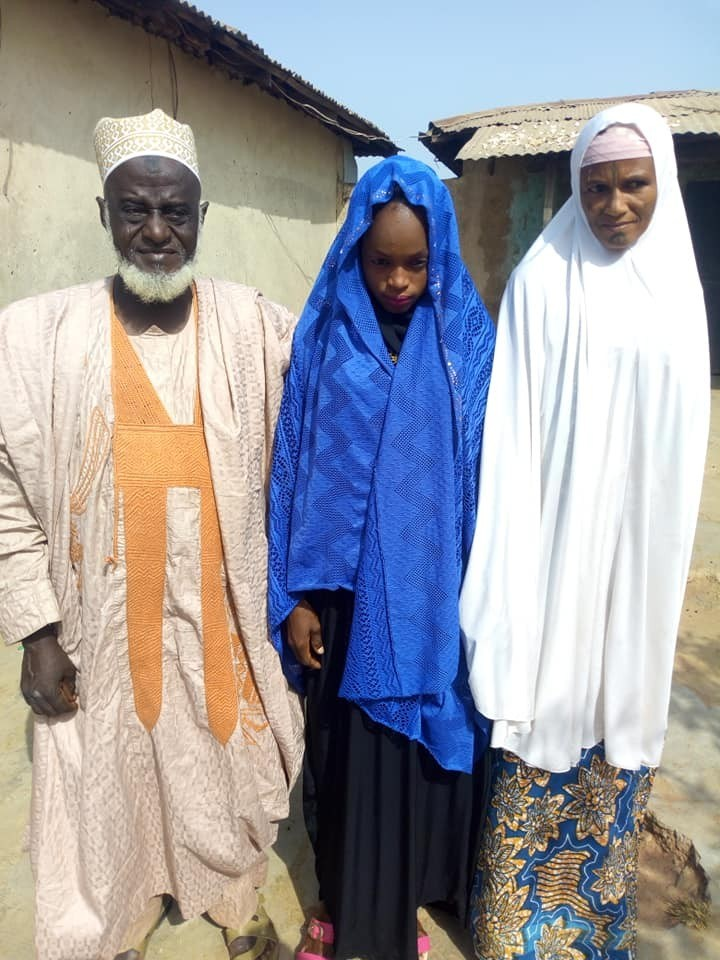 Outrage as 70-year-old Alhaji marries much younger bride in Niger State (Photos)