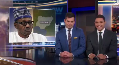 What they said about Buhari on an American TV show (video)