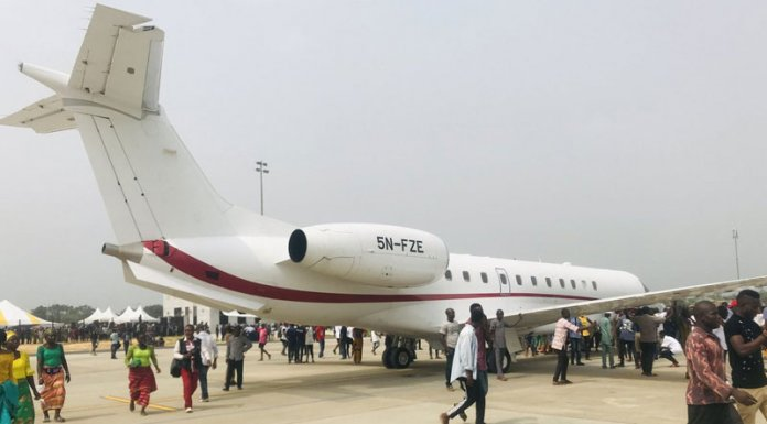History is made as first airplane lands in new Bayelsa airport