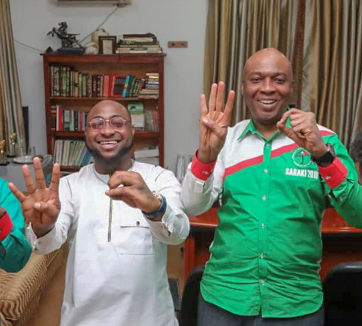 Saraki commends Davido