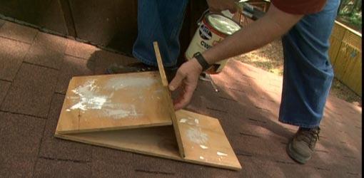 Roof Painting Platform Todays Homeowner