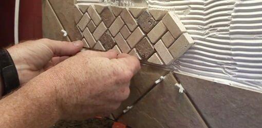Ceramic Tile Backsplash Project  Todays Homeowner
