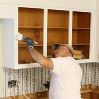 renew kitchen cabinets wine rack give your a facelift today s homeowner painter painting