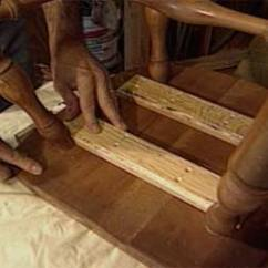 Fixing Wooden Chairs Throw Overs For How To Repair A Chair With Split Seat Today S Homeowner
