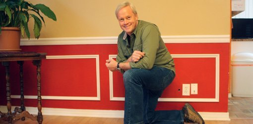 chair rail upside down posture fixing elegant extras adding molding to your home today s homeowner danny lipford with wainscotting on wall