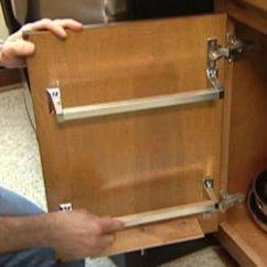 Cheap Kitchen Backsplash Ideas Cabinet Unit How To Make A Rack Store Lids For Pots ...