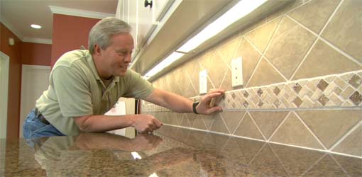 composite countertops kitchen target storage how to install a ceramic tile backsplash | today's homeowner