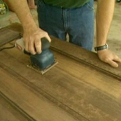 Refinish Kitchen Sink Bench Seating With Storage How To And Restore An Entry Door | Today's Homeowner