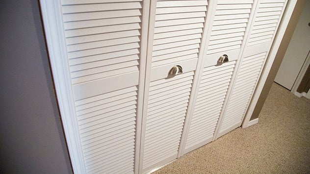 How To Hang Bifold Closet Doors Todays Homeowner