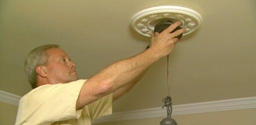 Danny Lipford Installing A Chandelier