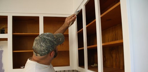 How To Paint Kitchen Cabinets Today's Homeowner