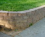 stackable retaining wall