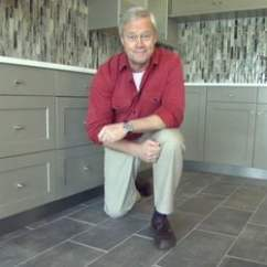 Stone Kitchen Flooring Red Oak Cabinets How To Choose Today S Homeowner Danny Lipford In That Has A Natural Floor