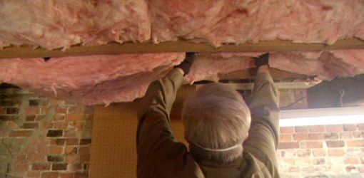 How to Insulate Under Floors in a Basement or Crawlspace