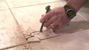 How To Remove And Replace A Damaged Ceramic Tile Today's