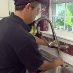 How To Repair Kitchen Faucet Drawer Cabinet Replace A Today S Homeowner Allen Lyle Installing New Replacing