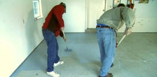 How To Apply An Epoxy Coating To A Garage Floor Today S
