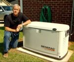 importance generator preparing home weather