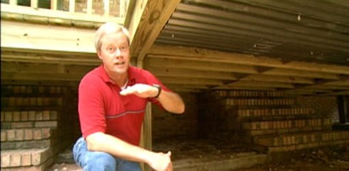 How to Build a Storage Area Under a Deck  Todays Homeowner