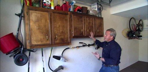 installing kitchen backsplash granite counters reused cabinets provide storage solution for ...