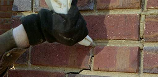How to Repair Cracked Brick Mortar Joints  Todays Homeowner