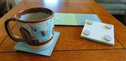 How to Make Tile Drink Coasters and Trivets for Your Home