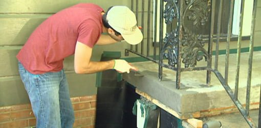How to Repair and Resurface Concrete Steps  Todays Homeowner