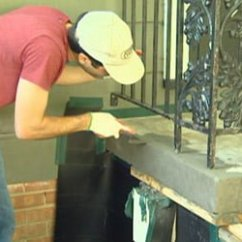 How To Redo Kitchen Cabinets On A Budget Shelving Ideas Repair And Resurface Concrete Steps | Today's Homeowner
