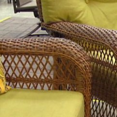 Woven Outdoor Chair Peacock Wicker For Sale Furniture From Martha Stewart Living Today S Homeowner