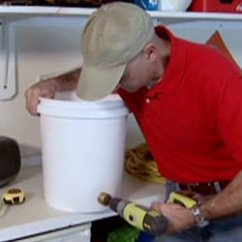 Ss Kitchen Sinks Discount Cabinets Nj How To Make An Extension Cord Carrier From A Bucket ...