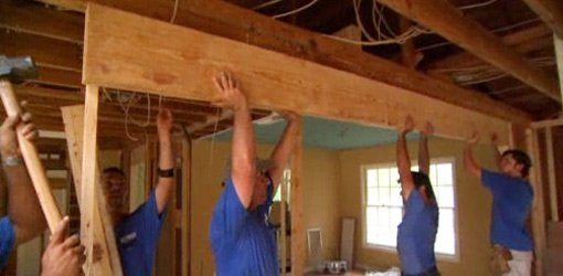 How to Remove a Load Bearing Wall  Todays Homeowner