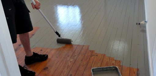 Polyurethane Over Painted Floor