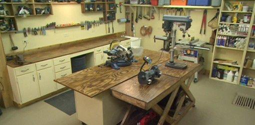 Workshop Blueprint And Wiring Design Layout