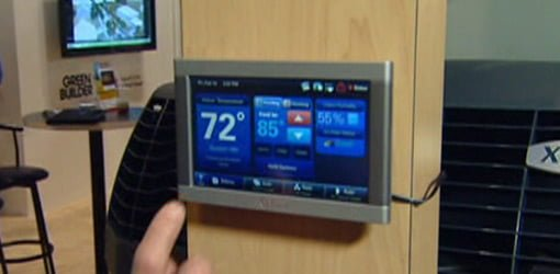 Trane Touch Screen Programmable Thermostat  Todays Homeowner