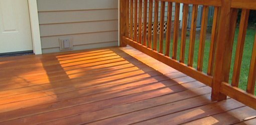 Protecting a Wood Deck with Stain  Todays Homeowner