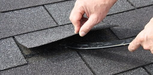 How to Replace a Damaged Asphalt Roof Shingle  Todays