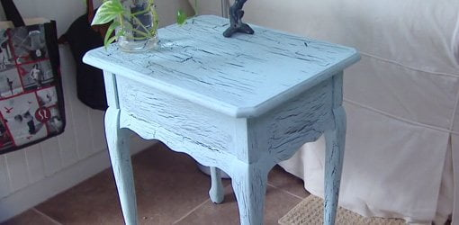 DIY Decorative Crackle Paint Finish for Furniture  Today