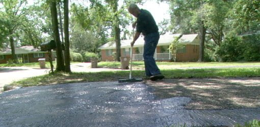 Repairing And Sealing An Asphalt Driveway Today S Homeowner