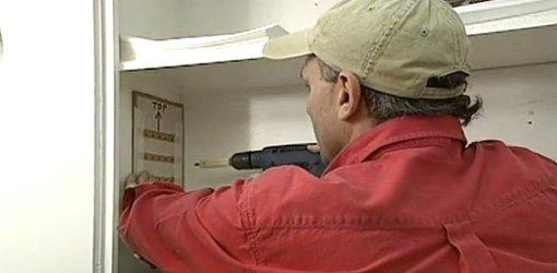 Diy Adjustable Shelf Hole Drilling Jig Today S Homeowner